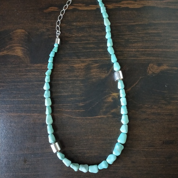 985a8b0faa7 Jay King DTR turqoise sterling silver necklace